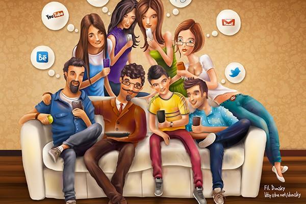 SOCIAL NETWORK: QUANTI SIAMO